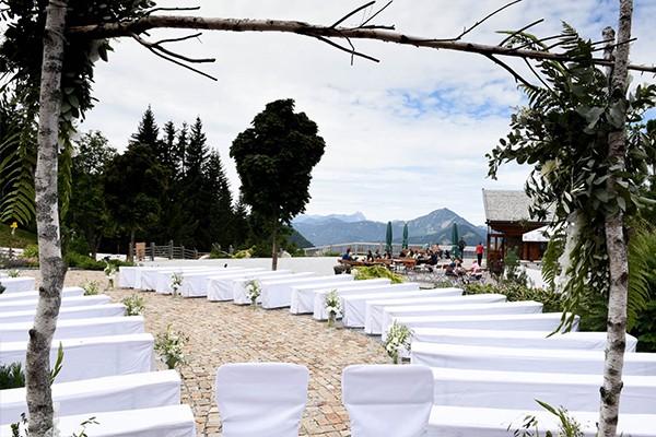 Hochzeit auf der Kala Alm