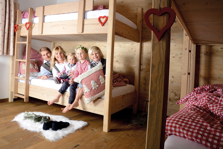 Auf unserer Kala Alm bieten wir insgesamt 36 Schlafplätze an.